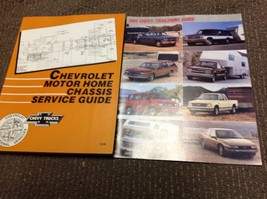1989 1990 Chevrolet Motor Home Chassis Service Guide Manual OEM GM Factory Set - $118.75