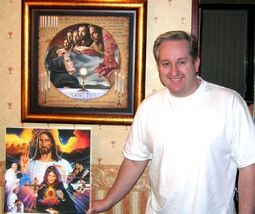"""DIVINE MERCY - Print - 24"""" x 36"""" by Tommy Canning image 2"""