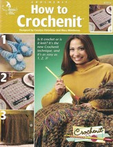 Annie's Attic HOW TO CROCHENIT 873216 Instructions & Projects to Make - $4.74