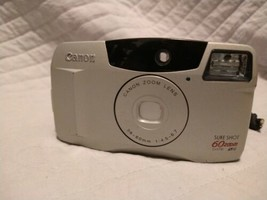 Canon Sure Shot 60 Zoom Date 35mm Camera  - $49.49