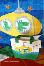 POTTERY BARN KIDS SUBMARINE BEACH TOWEL & MINI-TOTE -NWT- KID-FRIENDLY G... - $49.95