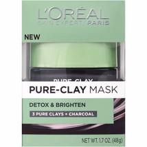 L'Oreal Paris Detox & Brighten Pure-Clay Mask, 1.7 oz - $15.29