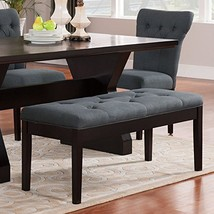 ACME Furniture Effie Bench, Gray Linen - €272,37 EUR