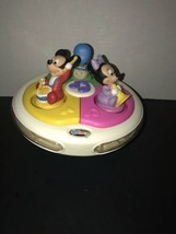 Vintage Disney Babies Musical Roly Poly Light Up Toy Mickey Minnie Donal... - $25.98