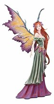 Ebros Amy Brown Large Summer Fairy Queen with Flower Adornment Statue Collector  - $109.99