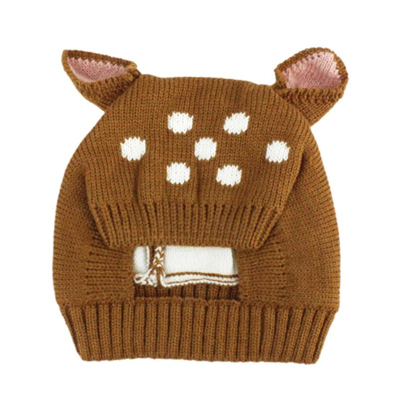 Primary image for Soft warm cap Autumn And Winer Baby Sika Deer Hat Girl Boy Cap Children Hats Tod