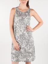 NWT DIESEL Women's Gray Floral D-Akir-B Scoop Neck Shift Dress XS - $43.23