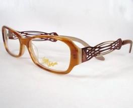 Apple Bottoms 749 Brown 2 Eyeglasses Metal Plastic 53-15-135 Frames New - $22.76