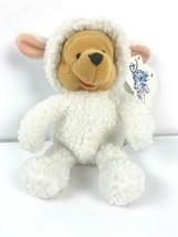 Winnie the Pooh Easter Plush Lamb Costume Soft Bear Disney W Tag Disneyl... - $10.39