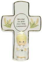 Precious Moments,  Blessings On Your First Holy Communion, Bisque Porcel... - $15.03