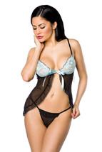 Vestaglia incl. perizoma babydoll lingerie sexy biancheria da notte - $23.66
