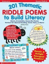 201 Thematic Riddle Poems to Build Literacy  - $0.99