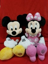 """Mickey & Mouse 17"""" Plush - Authentic Disney Store  - $19.85"""