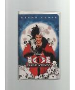 101 Dalmations - Walt Disney - Glenn Close - VHS 8996 - G - 1988 - 78693... - $3.91
