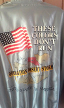 Vintage 1990 Operation Desert Storm These Colors Don't Run Jacket Size L... - $3.80