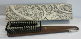 Vintage Show Brush Hanging West Germany with Box Hickory Handle - $27.08