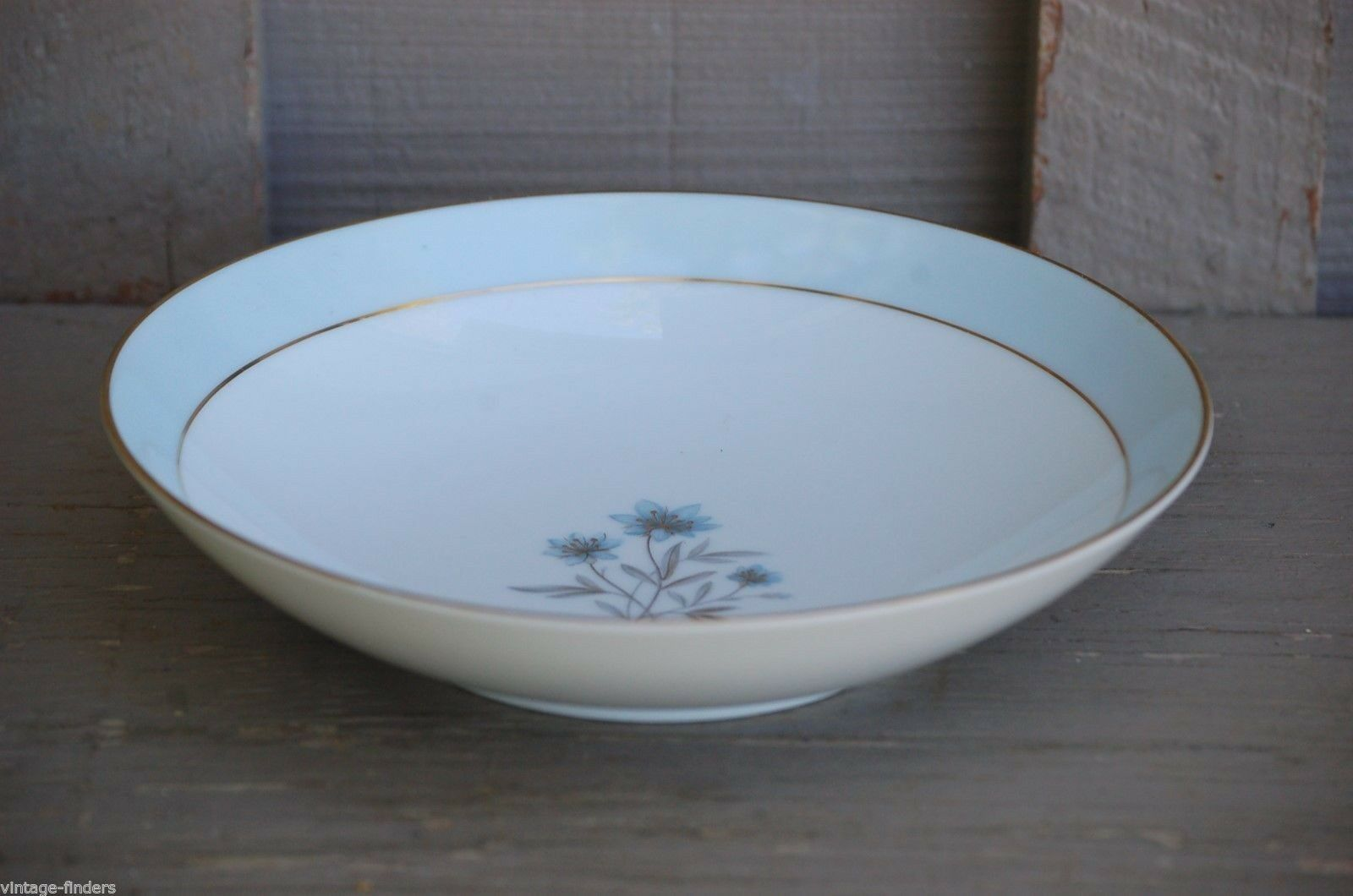 "Primary image for Vintage Noritake China 7-1/4"" Coupe Soup Bowl Vanessa Pattern No. 5541 ~ Japan"