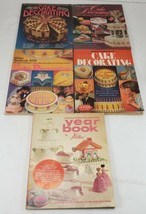 Vintage WILTON CAKE Decorating Yearbook Lot of 5  - $29.99