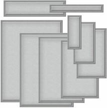 Spellbinders Nestabilities Card Creator, A2 Matting Basics B, Dies, Set of 9 image 2
