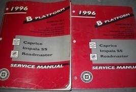 1996 Chevy Impala Caprice Buick Roadmaster Servizio Negozio Repair Manua... - $148.44