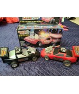 1984 REVVIN' RODS BUDDY L RACING CAR Black & Red Tested Working w/ Box - $21.16