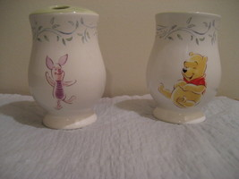 DISNEYS, WINNIE THE POOH AND PIGLET toothbrush holder and canister/tumbler - $19.79