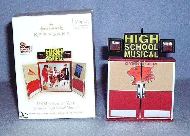 Primary image for Hallmark Disney High School Musical 3 Senior Year QXD2122 Keepsake Ornament 2009