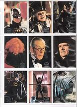 BATMAN RETURNS 1992 Topps Stadium Club Base Set (1-100) Trading Cards - $14.80