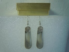 International Youth 1940 Earrings Silverplate - $38.30