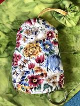 Handmade Key Pouch Key/ Cover Key pocket/ Handmade Gift, Bunny, Floral - $15.00