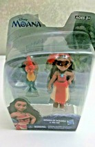 Hasbro Disney Moana Of Oceania & Hei Hei Small Figurines New - $14.84