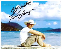 KENNY CHESNEY SIGNED AUTOGRAPHED 8x10 RP PHOTO BEAUTIFUL ISLANDS BEACH P... - $16.99