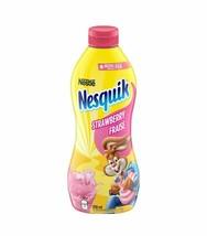4 Bottles Nestle NESQUIK Strawberry Syrup 510ml Each FROM CANADA FRESH D... - $43.71
