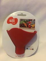 Red Sili Funnel for baby food canning making new - $4.31