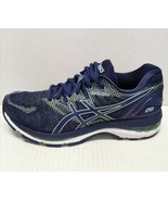 Asics GEL-Nimbus 20 Running Shoes Women's Size 6 Indigo Blue/Opal Green - $98.99