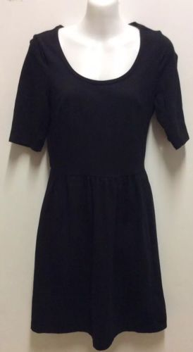 Primary image for Old Navy Dress Short Sleeves Black Small Petite