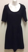 Old Navy Dress Short Sleeves Black Small Petite - $12.19