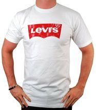 NEW NWT LEVI'S MEN'S PREMIUM CLASSIC GRAPHIC COTTON T-SHIRT SHIRT TEE WHITE image 3