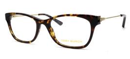 New Authentic Tory Burch 2063 1033 Tortoise Plastic Eyeglasses 51-18-135 W/Case - $48.51
