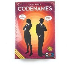 Codenames Czech Board Game Edition Pictures Cards Family Games Spy 2-8+ ... - $24.59