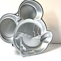 Wilton Disney Mickey Mouse Face Cake Pan Jello Mold 2105-7070  - $18.80