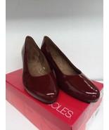 Aerosoles Womens Shore Thing Dress Pump- Red Patent 10 M - $70.81