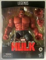 Hasbro Marvel Legends Series Red Hulk 6 inch Action Figure Target Exclusive NIB image 1