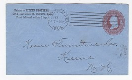 PITKIN BROTHERS BOSTON MASS FEBRUARY 11 1886 - $2.98