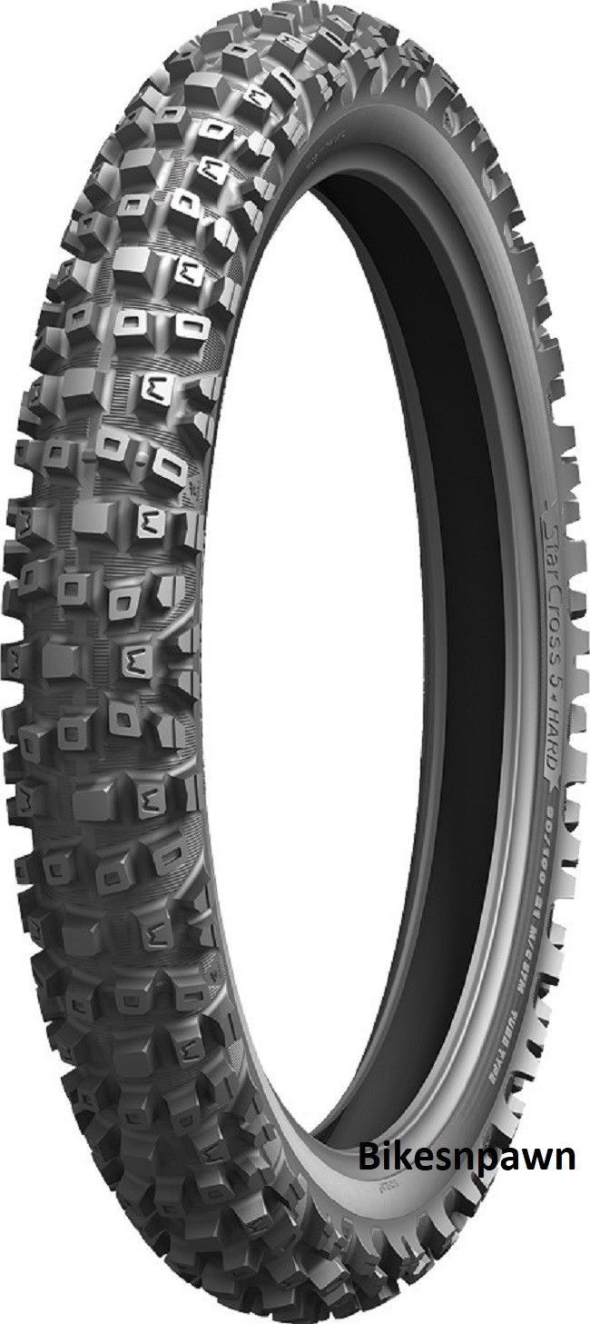 New 90/100-21 Michelin StarCross 5 Hard Front Motorcycle Dirt Bike Tire 57M