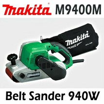 Makita M9400M Corded 100mm Belt Sander Full ball bearing / 940W 220V , Plug C image 1