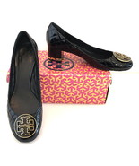 Tory Burch Maggie Black Quilted Patent Leather Pump 10.5B - $185.00