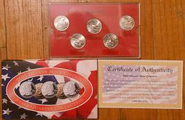 2001 Uncirculated State Quarter Denver Mint Set. - $5.00