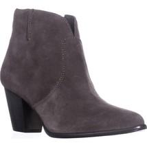 FRYE Jennifer Bootie Short Cowboy Boots, Charcoal, 8 US - $139.19