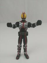 "2002 Bandai Kamen Rider 555 Faiz Hero Rare 3.5"" Vinyl Figure Japan - $14.49"